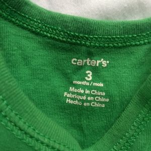 Carter's Shirts & Tops - ✨ 5/$25✨👶3-6 mo Boys Onsies